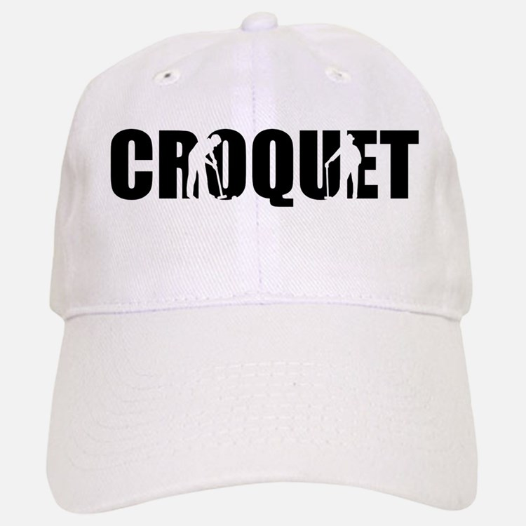 Croquet Baseball Baseball Cap