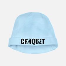 Croquet baby hat