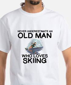 WATER SKIING. NEVER UNDERESTIMATE AN OLD T-Shirt