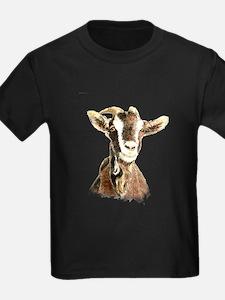 Watercolor Goat Farm Animal T-Shirt