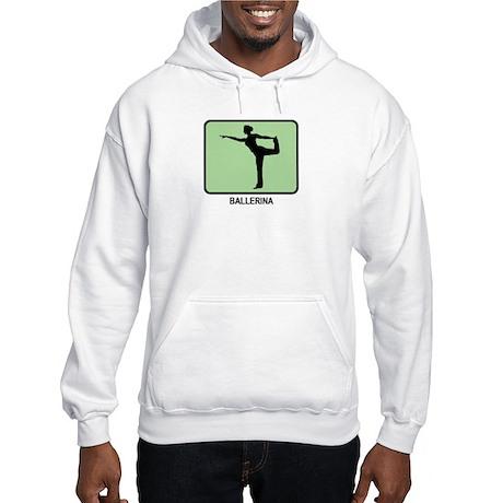 Ballerina (GREEN) Hooded Sweatshirt
