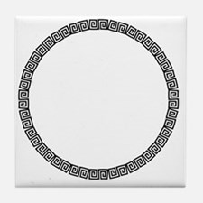 Funny Round celtic Tile Coaster