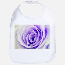 Beautiful Pastel Rose Floral Bib