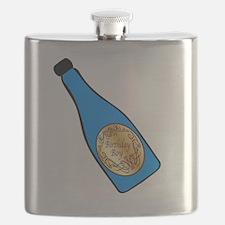 Vintage champagne Flask