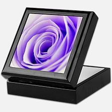 Beautiful Pastel Rose Floral Keepsake Box