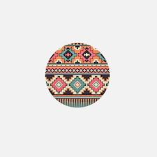 Native Pattern Mini Button