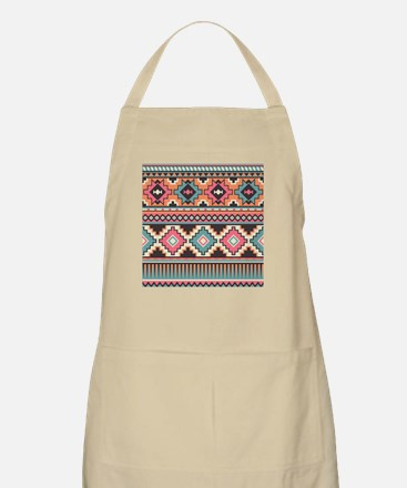 Native Pattern Apron