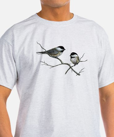 chickadee song bird T-Shirt
