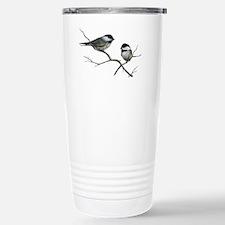 chickadee song birds Travel Mug