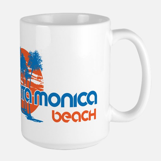 Santa Monica Beach, California Mugs