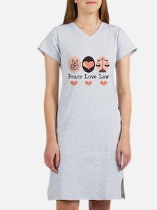 Funny Legal Women's Nightshirt