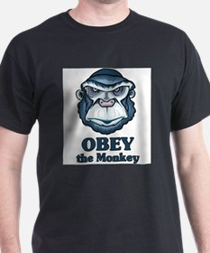 Obey the Monkey T-Shirt