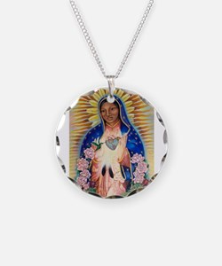 Virgin Mary - Our Lady Of Gu Necklace