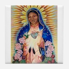 Virgin Mary - Our Lady Of Guadalupe Tile Coaster