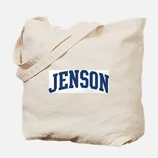 JENSON design (blue) Tote Bag
