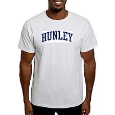 HUNLEY design (blue) T-Shirt