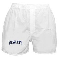 HEWLETT design (blue) Boxer Shorts
