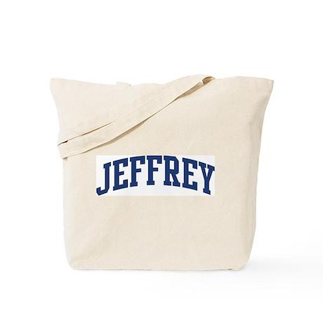 JEFFREY design (blue) Tote Bag