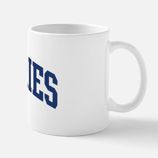JEFFERIES design (blue) Mug
