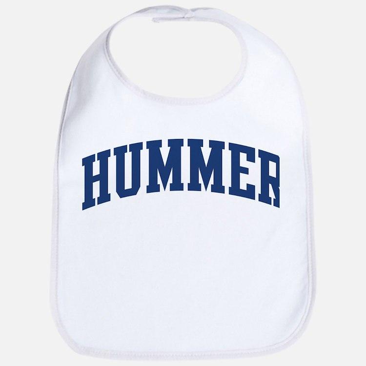 HUMMER design (blue) Bib