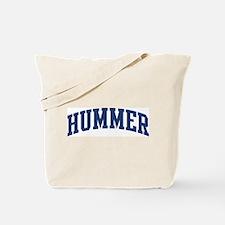 HUMMER design (blue) Tote Bag