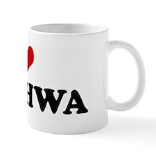 I Love SHINHWA Mug