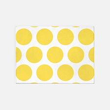 Yellow Polka Dot Rug Rugs Ideas