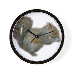 squirrel 2 Wall Clock