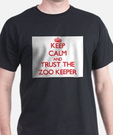 Keep Calm and Trust the Zoo Keeper T-Shirt