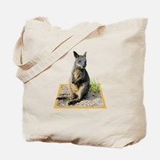 Autumn the Swamp Wallaby Tote Bag