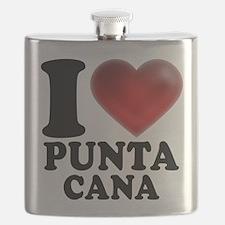 I Heart Punta Cana Flask