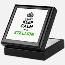 STALLION I cant keeep calm Keepsake Box