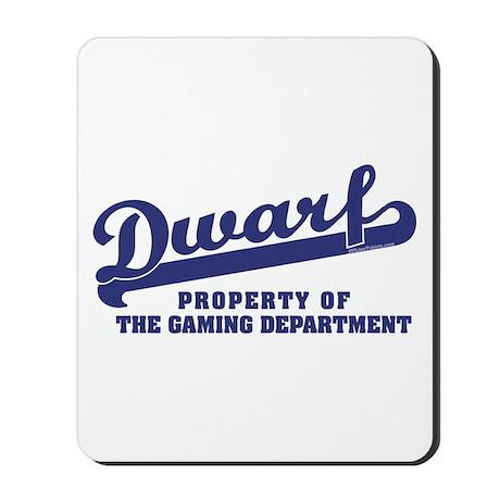 Dwarf Gaming Dept Mousepad