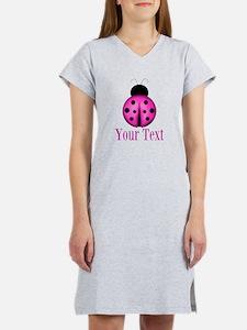 Purple Ladybug Women's Nightshirt