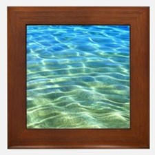 Hawaii Tropical Lagoon Framed Tile