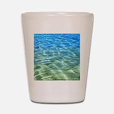Hawaii Tropical Lagoon Shot Glass