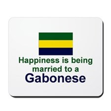 Gabon-Happily Married Mousepad
