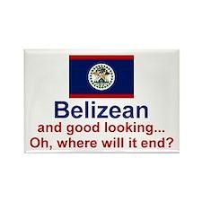 Good Looking Belizean Rectangle Magnet