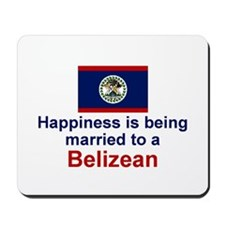 Happily Married to a Belizean Mousepad