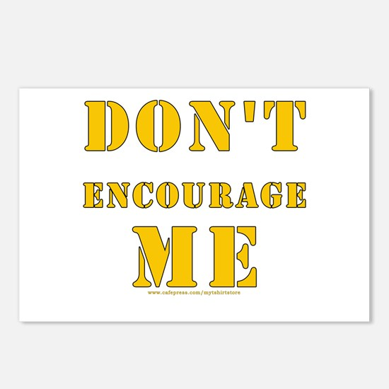Don't Encourage Me! Postcards (Package of 8)