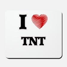I Love Tnt Mousepad