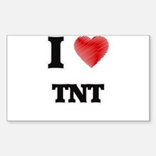 I Love Tnt Decal