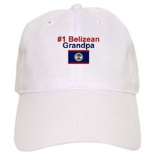 #1 Belizean Grandpa Baseball Cap
