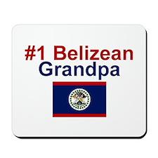 #1 Belizean Grandpa Mousepad
