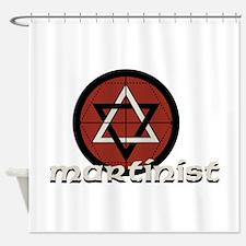 Martinist Shower Curtain