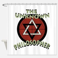 Unknown Philosopher Shower Curtain