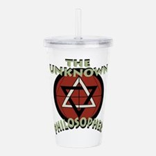 Unknown Philosopher Acrylic Double-wall Tumbler