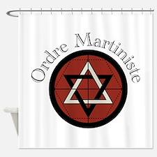 Ordre Martiniste Shower Curtain
