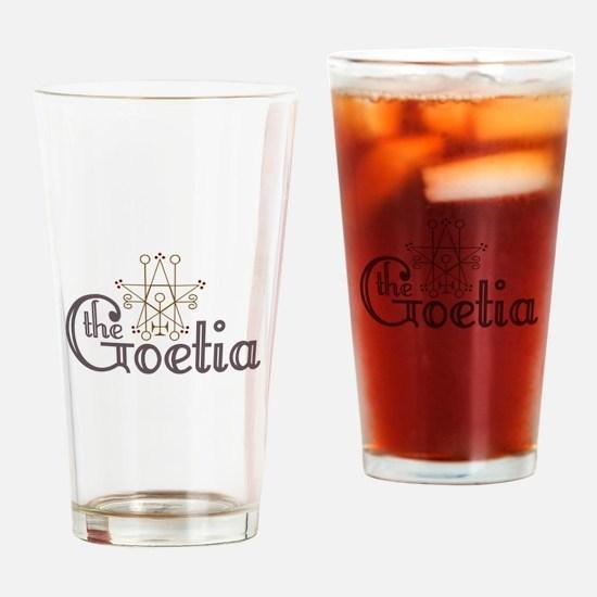Goetia Drinking Glass