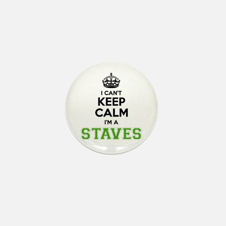 STAVES I cant keeep calm Mini Button